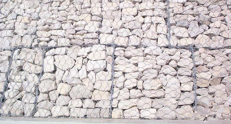 公路边坡石笼网施工案例