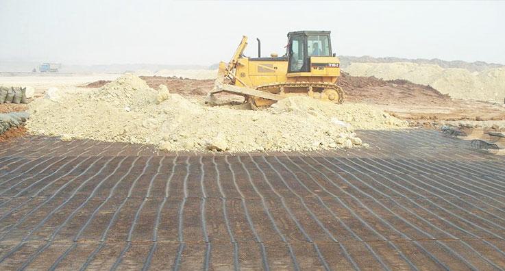 龙瑞高速公路土工格栅应用案例