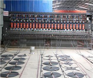 【天海】钢塑土工格栅生产线